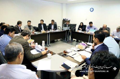 جلسات تخصصی برنامه های سال 1396 با حضور فرمانداران و معاونت برنامه ریزی و بودجه سازمان